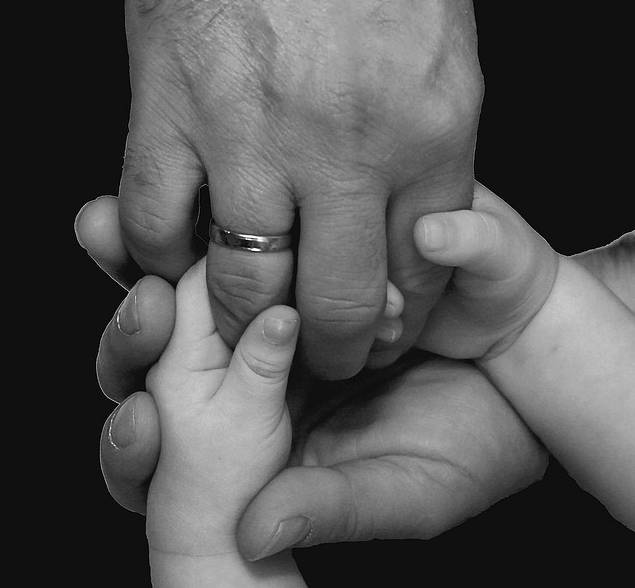 Positive Parenting Family Holding Hands