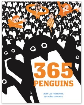 365 Penguins, Egg Carton Penguin Craft for Kids