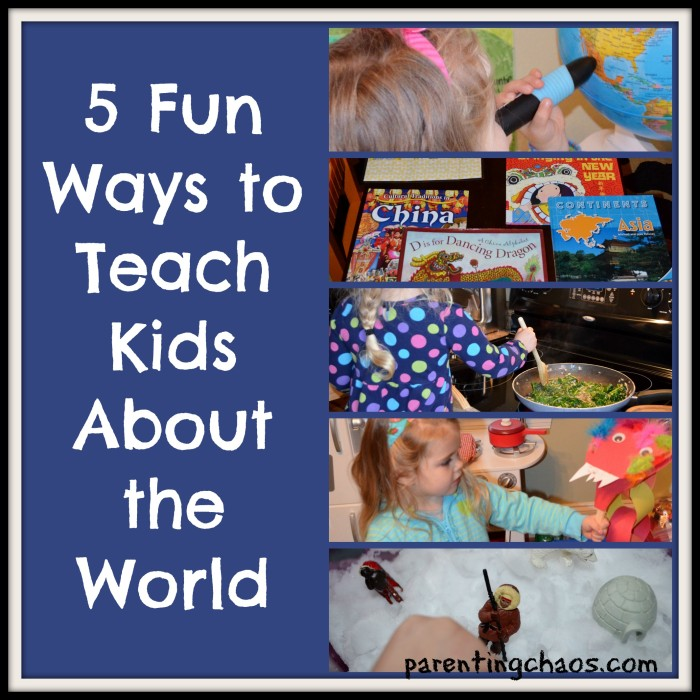 Teach Kids About the World