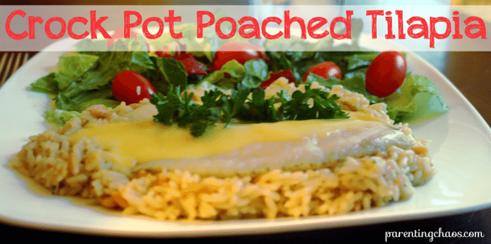 crock pot poached tilapia