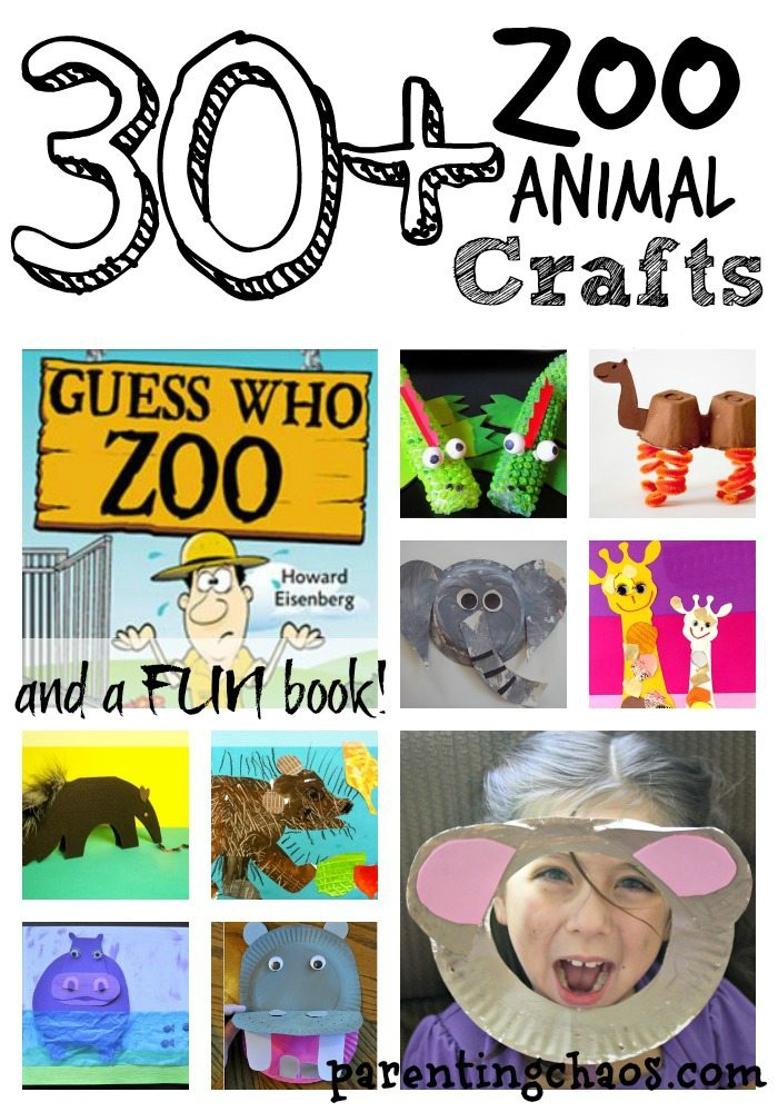 Guess Who Zoo Animal Crafts