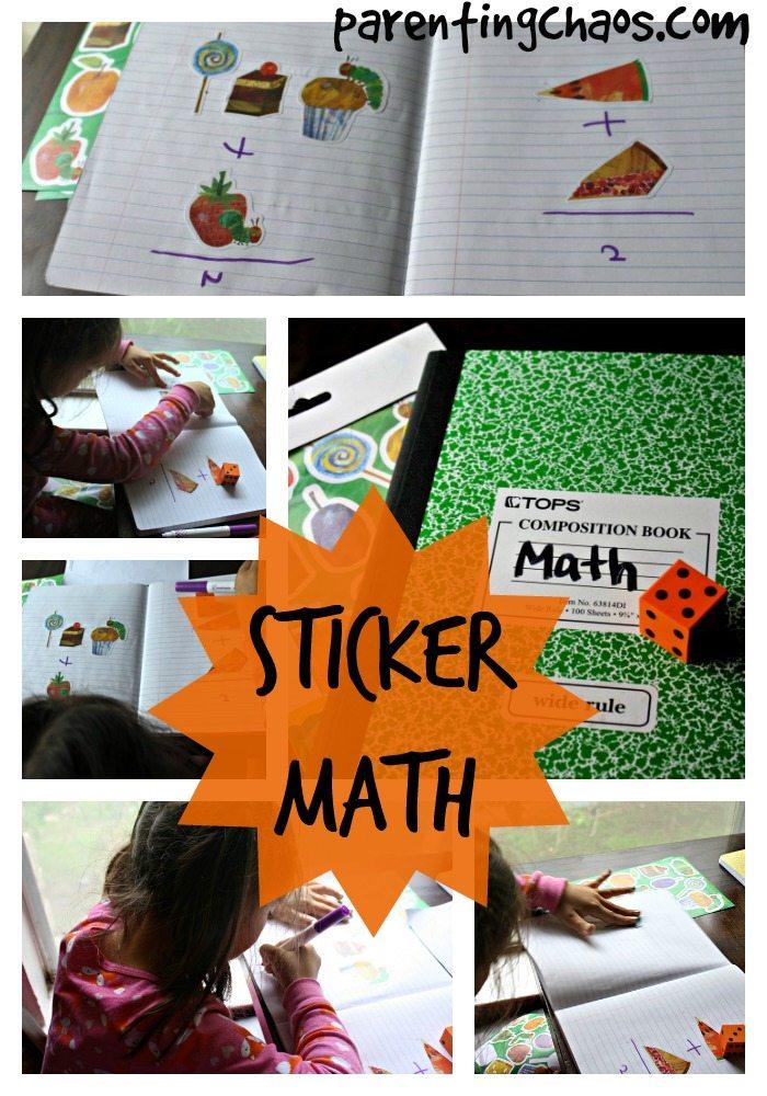 Sticker Math