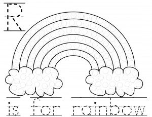 graphic relating to Fruit Loop Rainbow Printable Template identified as Climate Printables