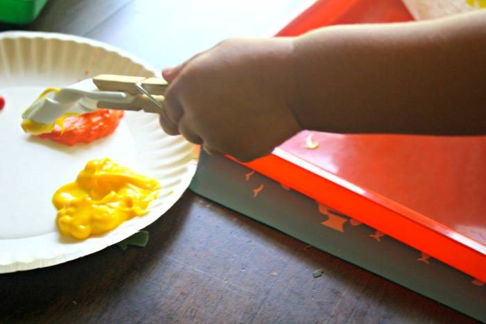 DIY Paintbrushes - Great Fine Motor Play for Kids!