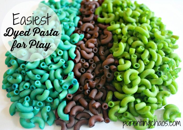 Learn to dye pasta