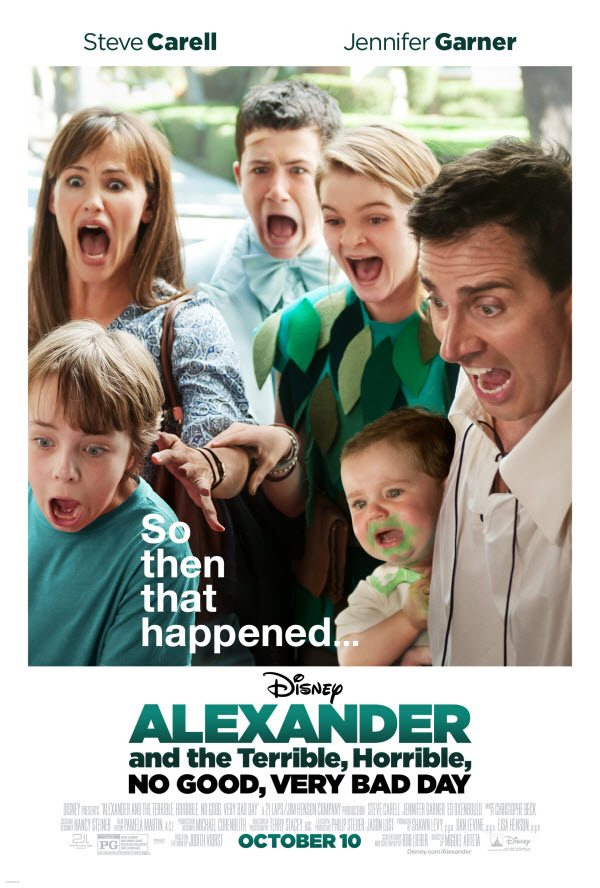 Alexander the Horrible, Terrible, No Good Day Movie 2014