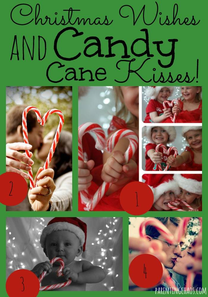 Candy Cane Kisses Christmas Theme
