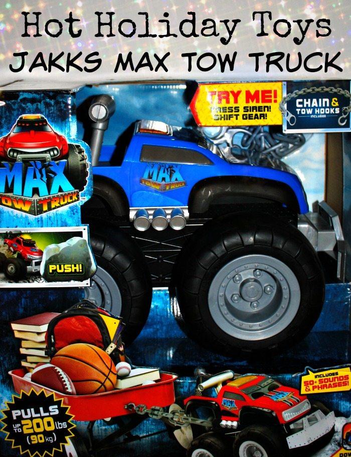 JAKKS Max Tow Truck Toy